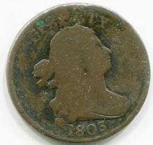 1803 Half Cent F