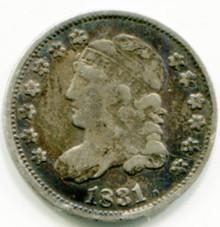 1831  Half Dime VF