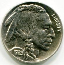 1935 Buffalo Nickel  MS65