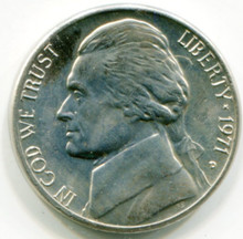 1971 D Jefferson Nickel MS63