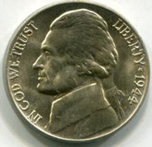 1944 D  Jefferson Nickel  MS64 FS
