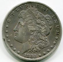 1882 CC Morgan Dollar XF
