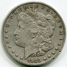 1903  S  Morgan Dollar  XF