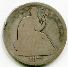 1871 Seated Half Dollar Net G