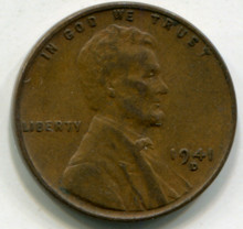 1941 D Lincoln Cent XF