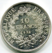 1973 France 10 Francs KM#932   Ms65 Proof Like