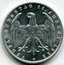 1922 J Germany 3 Marks  KM#29  MS60