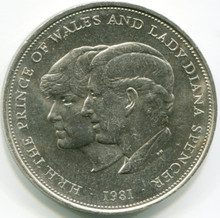 1981 Great Britain 25 New Pence KM#925 UNC