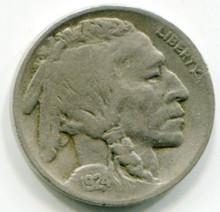 1924 D Buffalo Nickel F