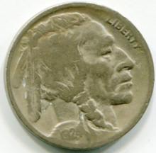 1924 D Buffalo Nickel VG