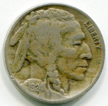 1924 Buffalo Nickel VF25