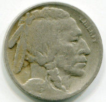 1925 S Buffalo Nickel AG