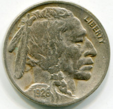 1926  Buffalo Nickel  VF