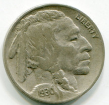 1930  Buffalo Nickel  XF40