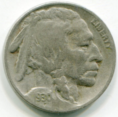 1929 S Buffalo NIckel F