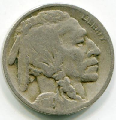 1927 D  Buffalo NIckel VG