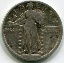1920 XF Standing Liberty Quarter