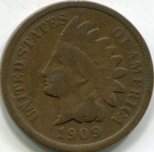 1909 Indian Cent VG