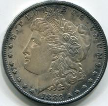 1883-CC Morgan Dollar MS-60 Damaged