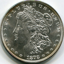 1878 (8 T.F.) Morgan Dollar MS-65