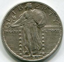 1925 Standing Liberty Quarter AU-50
