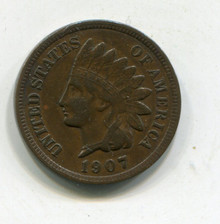1907 Indian Cent XF-45