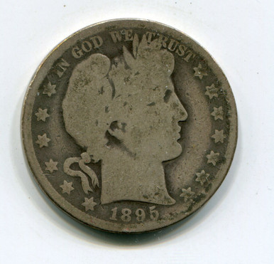 1895-O Barber Half Dollar (G)