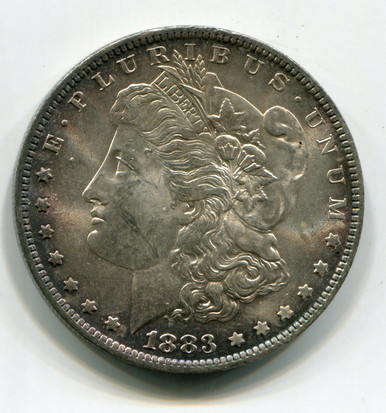 1883-O Morgan Dollar MS-60