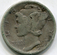 1919-S (VF) Mercury Dime