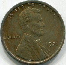 1921 (MS-60) Lincoln Cent