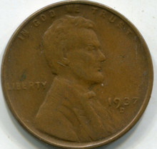 1937-D (XF) Lincoln Cent