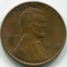 1938 (AU) Lincoln Cent