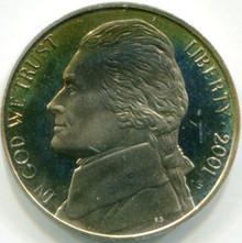 2001-S (PF-65) Jefferson Nickel