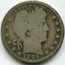 1895 (VG) Barber Quarter