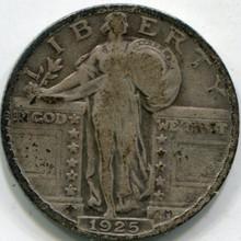 1925 (F-15) Standing Liberty Quarter