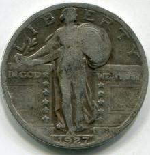 1927 (F) Standing Liberty Quarter