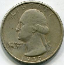 1935 (XF) Washington Quarter