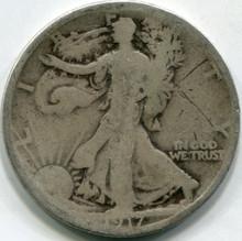 1917-S (G) Walking Liberty Half Dollar