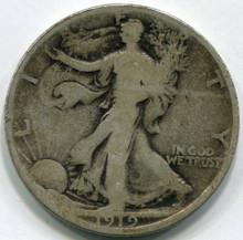 1919-D (VG) Walking Liberty Half Dollar