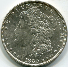 1880-O MS-60 Moran Dollar