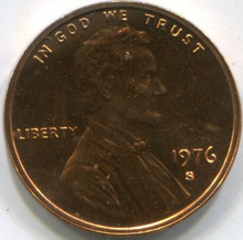 1976-S Proof (PF-67) Lincoln Cent