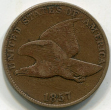 1857 (XF) Flying Eagle Cent