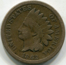 1862 (VG-10) Indian Cent