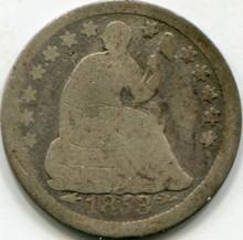 1853 Arrows (AG) Liberty Seated Half Dime