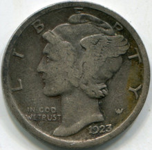 1923 (F) Mercury Dime