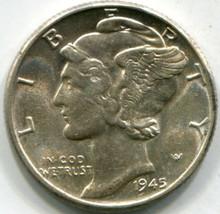 1945 (MS-60) Mercury Dime