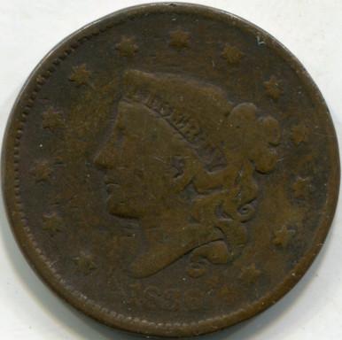 1836 (VF) Large Cent