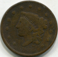1836 (VF) Large Cent