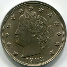 1903(MS-63) Liberty V Nickel