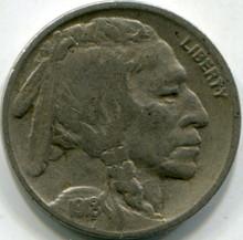 1918-S (F-15) Buffalo Nickel